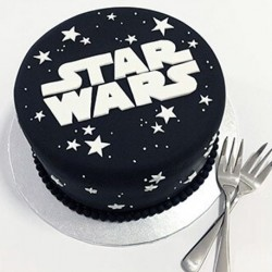 Star Wars Emblem Birthday Cake