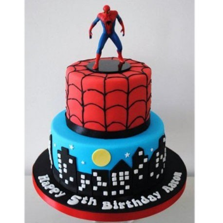 Spiderman Watchful Guardian Cake