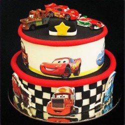 Cartoon Cars Cake