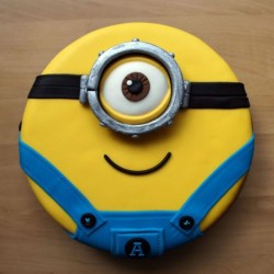 Minion One Eye Character Cake