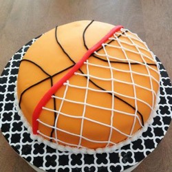 My Basketball Cake