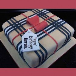 Burberry Gift Cake