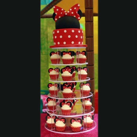 Mini mouse in love cake 3 kg
