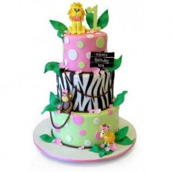 Birthday Jungle Cake