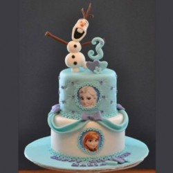 Frozen memories Cake