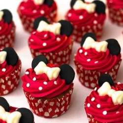 Mini mouse 12 pcs cup cakes