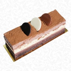 Triple Chocolate Portion