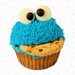 Cookies Monster Cupcake