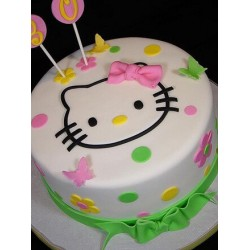 Butterfly Fields Hello Kitty Cake