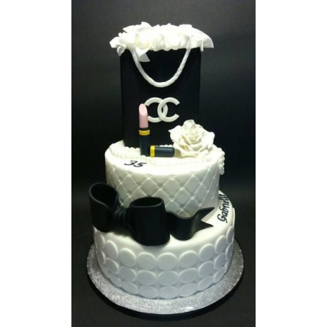 Chanel Shopping Bag Cake