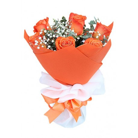 7 Lovely Kisses - Orange