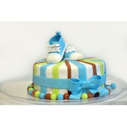 Lovely Bow baby Cake