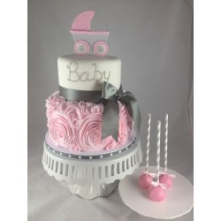 Baby Princes Carriage Cake
