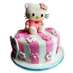 Hello Kitty Cake - Pink