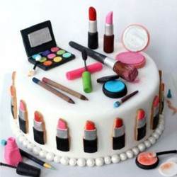 Cosmetics Birthday Cake