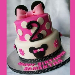 Mini mouse in pink 6 kg