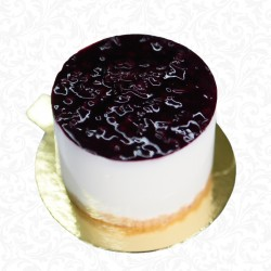 Blueberry Cheese Cake Portion