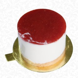 Strawberry Cheese Cake Portion