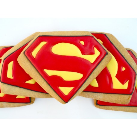 Superman Cookies