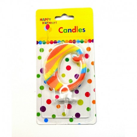 0 Number Candle