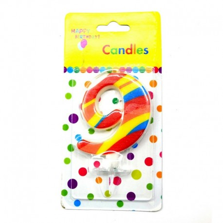 9 Number Candle